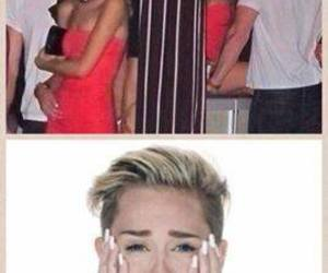 miley, cyrus, and sad image