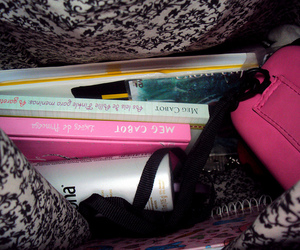 bag, book, and in my bag image