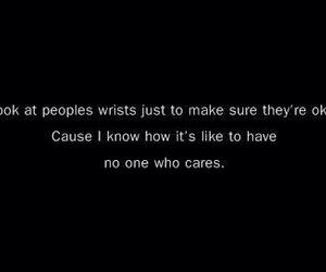 depression, quote, and wrist image