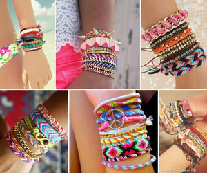bracelets, fashion, and girly image