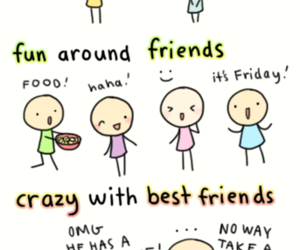 best friend, funny lol, and chibird image