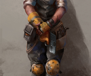 engineer, Team Fortress 2, and the scout image