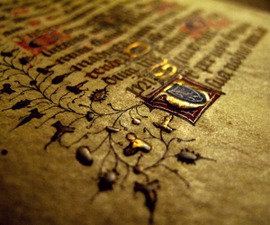 book, medieval, and old image