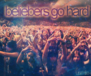 beliebers and justin bieber image