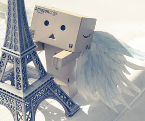 paris, danbo, and angel image