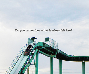 fearless, text, and quote image