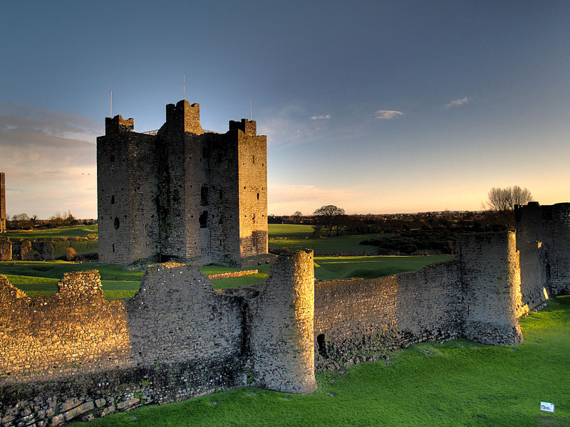 castle, ireland, and medieval image