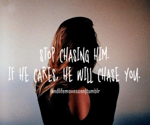 him, stop, and chasing image