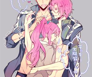 free!, rin matsuoka, and seijuro mikoshiba image