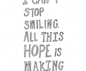 hope, text, and words image