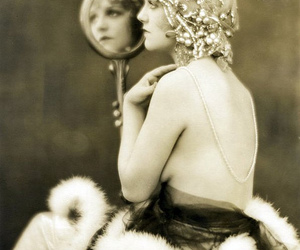 vintage, flapper, and retro image