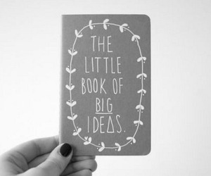 book, ideas, and little image