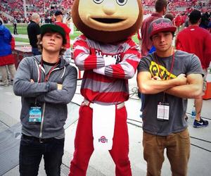 keaton, wesley, and emblem3 image