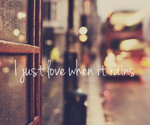 rain, quote, and light image