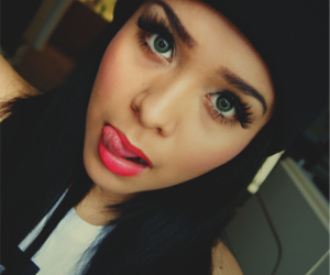 girl, swag, and eyes image