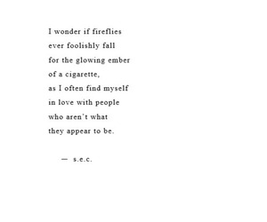beautiful, falling, and quote image