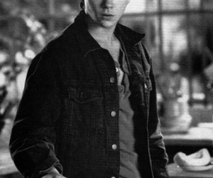 river phoenix, black and white, and actor image