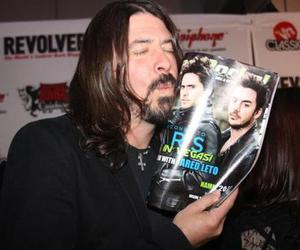 dave grohl and 30 seconds to mars image