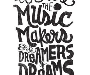 Dream, music, and art image