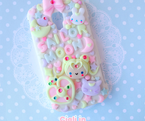cute, kawaii, and iphone image