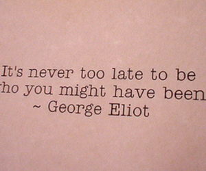 quotes, text, and george eliot image