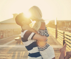 couple, summer, and relationships image