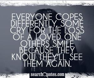 everyone... and loss loved one quote image