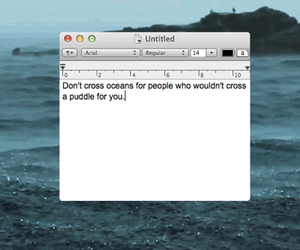 quote, ocean, and tumblr image
