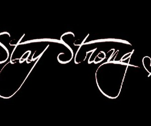 stay strong, strong, and demi lovato image