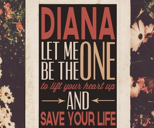 one direction, diana, and Harry Styles image