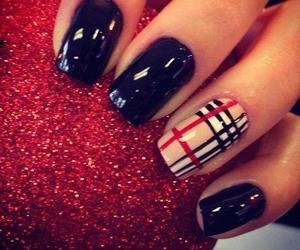 nail, rock, and nails image