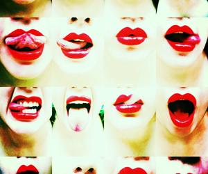 bitch, lips, and fun image