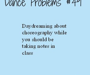 dance, problems, and dancer image