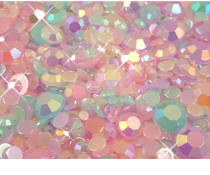 glitter, pink, and pastel image