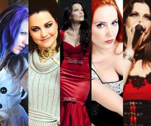 amy lee, Epica, and evanescence image