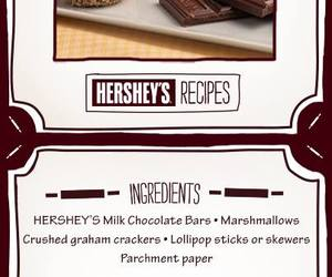 chocolates, recipes, and s'mores image