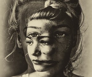art, face, and woman image