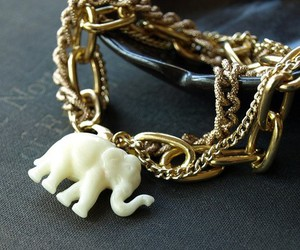 elephant and jewel image