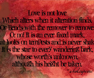 quote, shakespeare, and red image