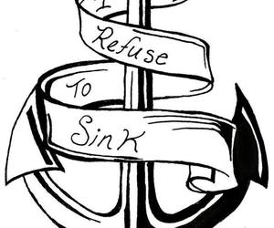 anchor and i refuse to sink image