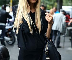 fashion, blonde, and Magdalena Frackowiak image