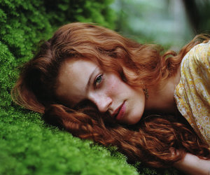 fashion, nature, and ginger image