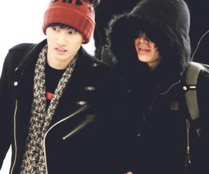 donghae, eunhyuk, and super junior image