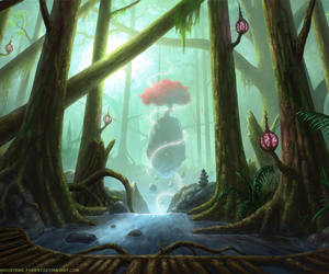 deviantart and industrial-forest image