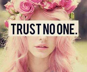 trust, pink, and flowers image