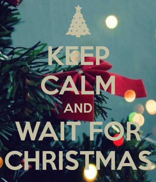 Keep Calm Christmas.Keep Calm And Wait For Christmas On We Heart It