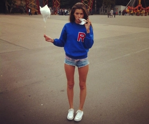 brunette, converse, and fashion image
