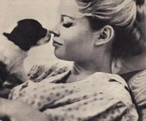 brigitte bardot and puppy image