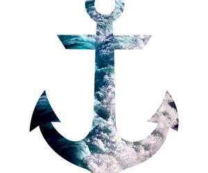 anchor and sea image