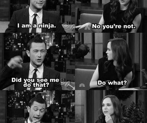 funny, ninja, and ellen page image